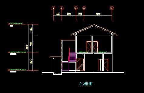 两层别墅平面图