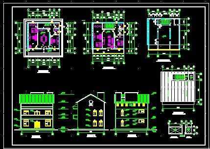私人住宅方案设计图