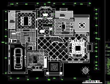 别墅装修设计图纸