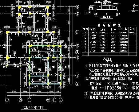 3层独栋别墅建筑结构全套施工图