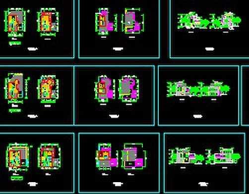斜屋顶别墅设计方案图