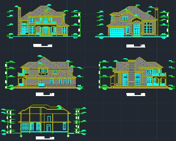 某二层别墅设计图