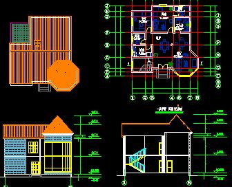 二层小别墅设计图