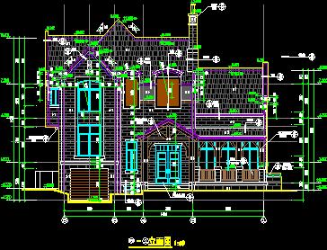 建筑设计 03  建筑图纸 03  别墅图纸 03 正文   资料大小:8.