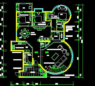 中式别墅装修设计图纸