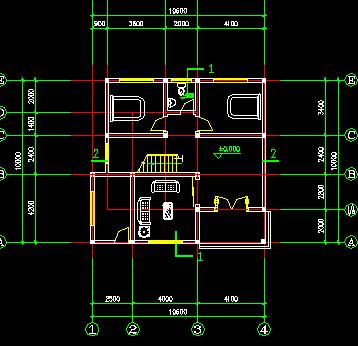 农村住宅设计平面图免费下载 - 别墅图纸 - 土木工程网