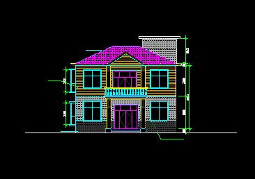 90平方米二层独栋别墅设计图纸