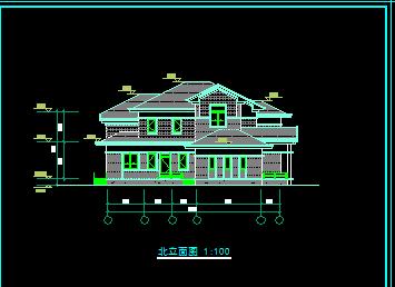 360平米2层独栋别墅设计图