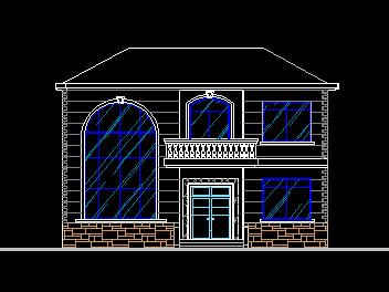 132平方米二层别墅设计图