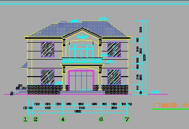 160平方米二层独栋别墅设计图
