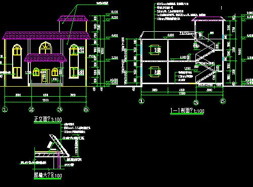 93平方米农村别墅设计图