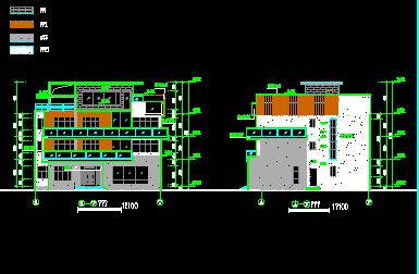 207平方米三层独栋别墅设计图(含建筑结构)