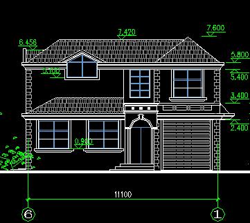 139平米两层独栋别墅设计图