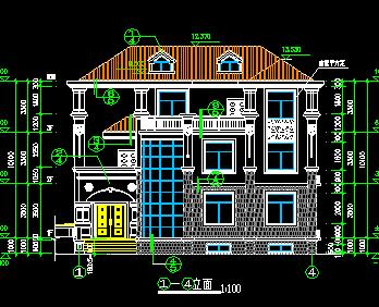 240平米2层半独栋别墅设计图(含建筑结构水电)