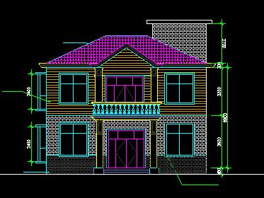 90平方米二层独栋别墅设计图纸免费下载 - 别墅图纸