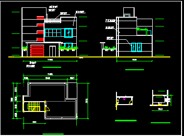 115平方米农村住宅设计图