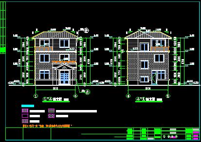 85平米3层农村单家独院式别墅设计图(含建筑结构水电)