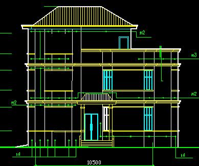 129平方米3层独栋恶魔设计图(含建筑结构电)免第七合计魔兽世界2级图纸别墅图片