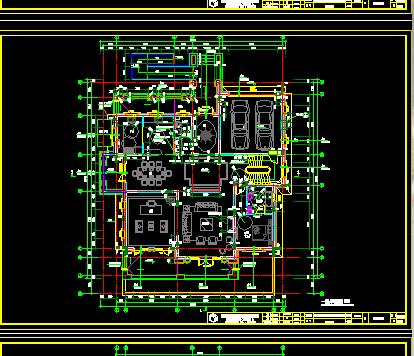 二层独栋别墅设计图纸(含效果图)
