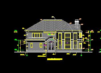 313平米两层别墅设计图