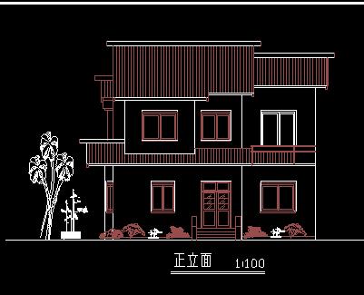 两层别墅设计图