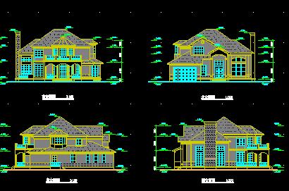 两层独栋别墅设计图