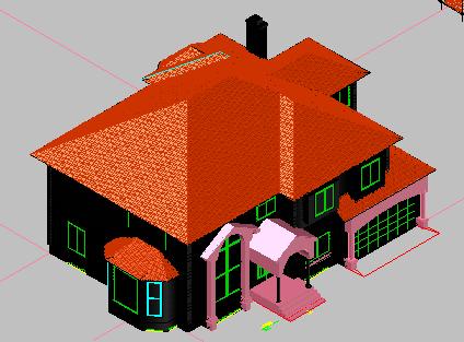 别墅全三维设计图