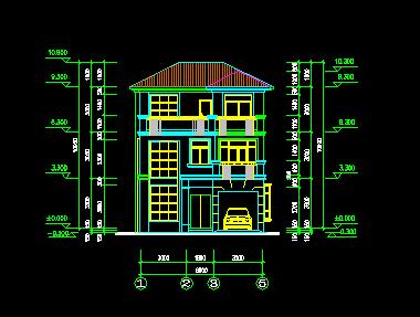 92平米两层乡村别墅设计图免费下载 - 别墅图纸