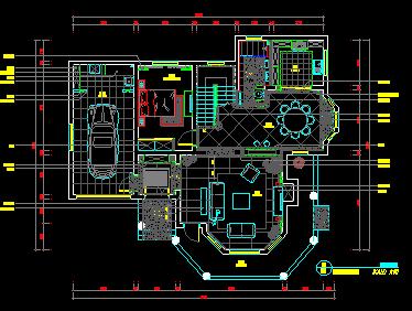 二层别墅室内装修设计图