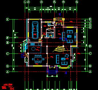 三层别墅建筑设计图纸免费下载 - 别墅图纸 - 土木