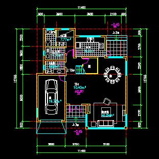 二层小别墅建筑设计图纸