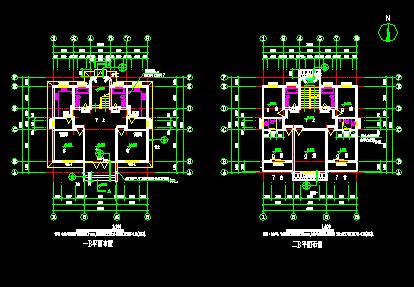 三层农村别墅建筑设计图