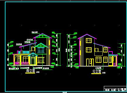 三层小康楼建筑设计图