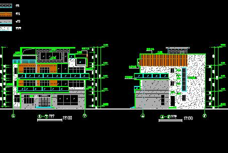 207平米三层独栋别墅设计图