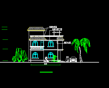 107平方米二层独栋别墅设计图