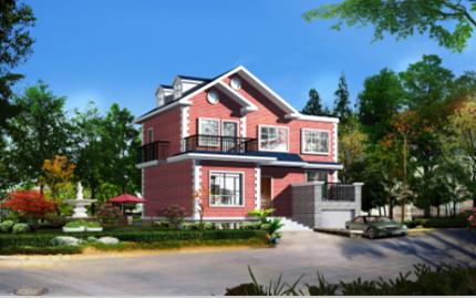 144平米二层独栋别墅设计图