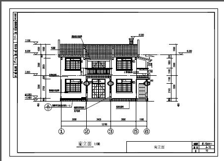 89平米二层单家独院式别墅设计图