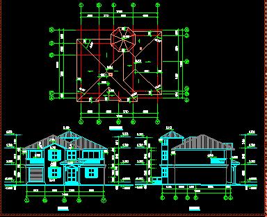 150平米二層單家獨院式別墅設計圖