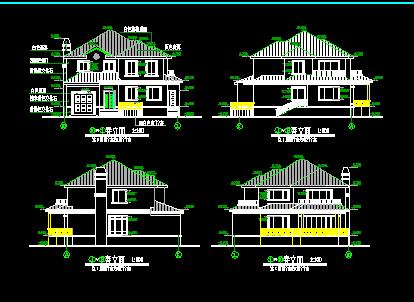 220平米二层独栋别墅设计图