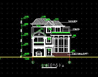 151平方米三层别墅建筑施工图纸