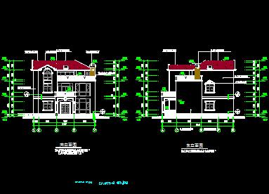 168平方米二层私人别墅建筑设计图纸