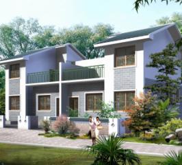 149平方米二层双联别墅建筑设计图纸