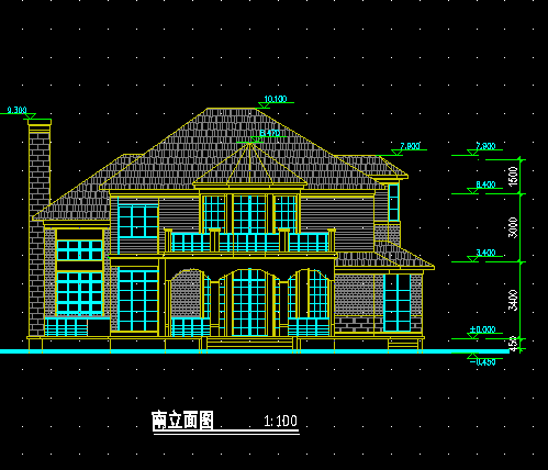 323平米三层建筑设计图纸