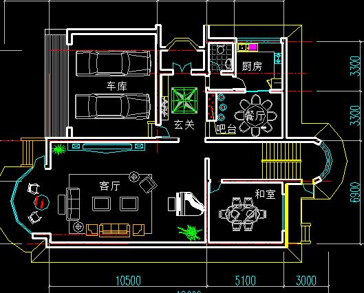 200平米别墅平面设计图纸免费下载 别墅图纸