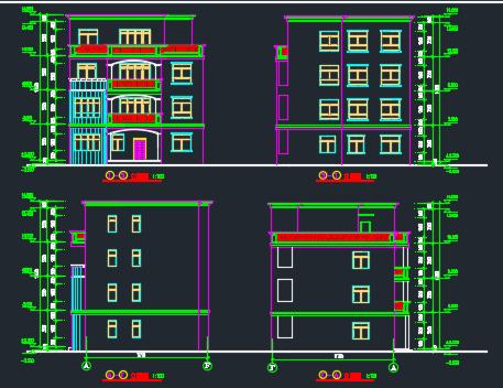 169平方米四层别墅设计私宅免费下载-拉力图图纸轴设计锚杆图纸值向图片