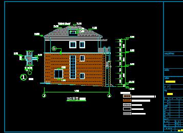 130平方米三层别墅建筑设计图
