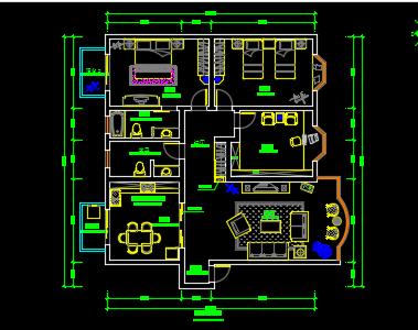 住宅装修设计图纸