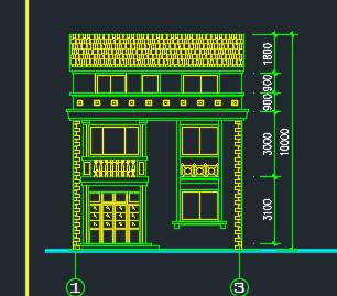 三层独栋乡村小别墅建筑设计图纸
