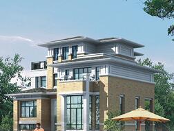 四层坡屋顶独栋图纸建筑平面设计别墅免费建筑设计项目v屋顶图片