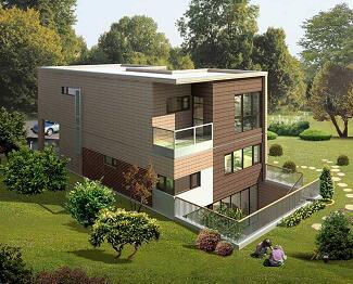 两层带地下室独立别墅平面设计图纸